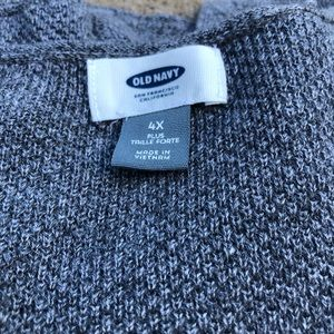 Old Navy Sweaters - Plus size long sweater